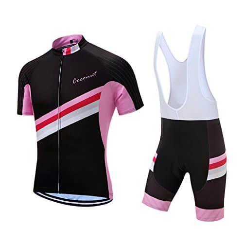Men s Short Sleeves Cycling Jersey Set Bike Jersey Suit Cycling Shirt Bib  Shorts with 3D Gel Padded 3a9b2eaeb
