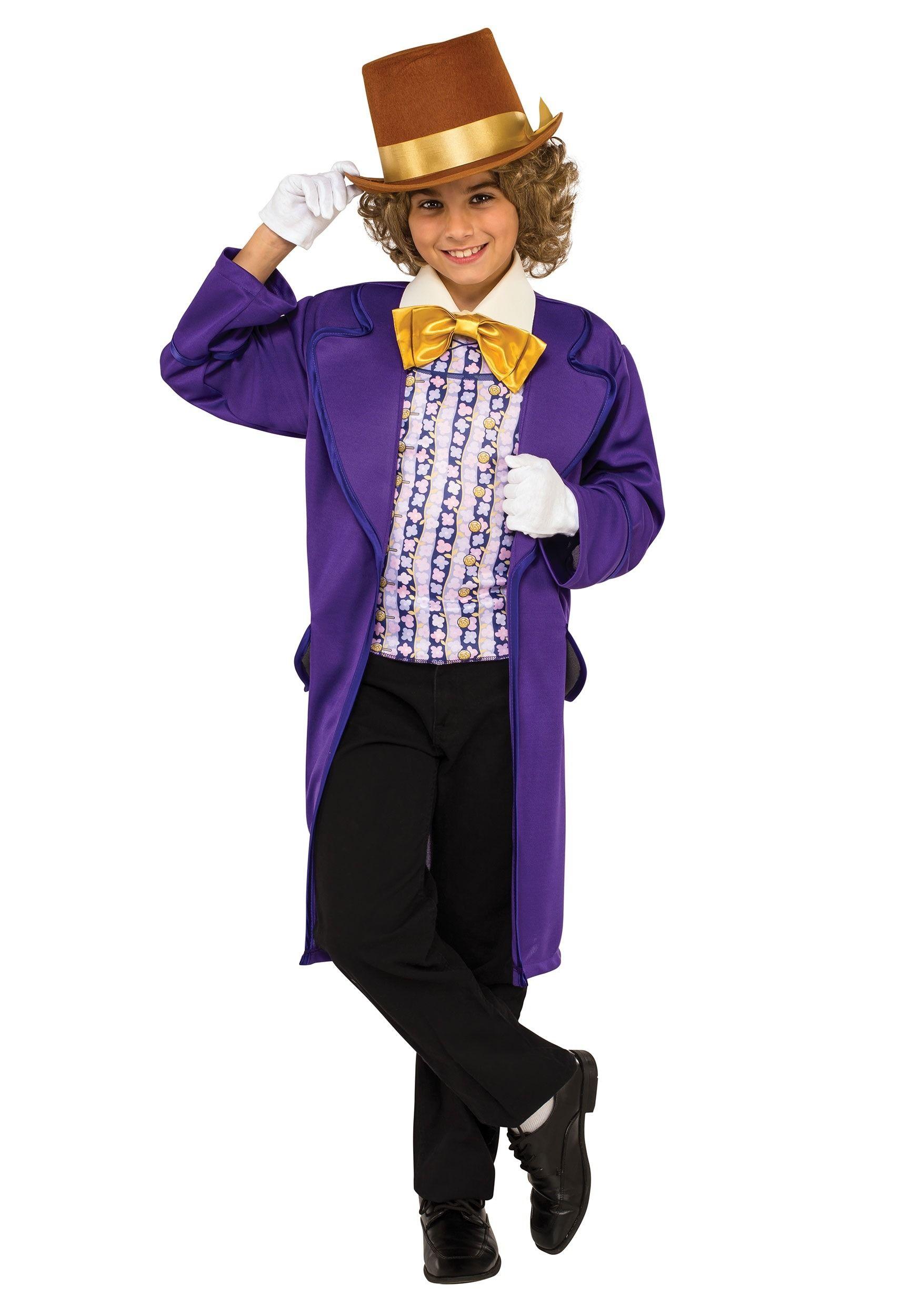 Boys Willy Wonka Costume | Halloween Costume Ideas ...