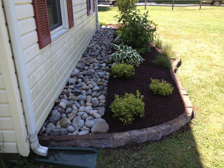 Diy Mulch Around House Google Search Home Style