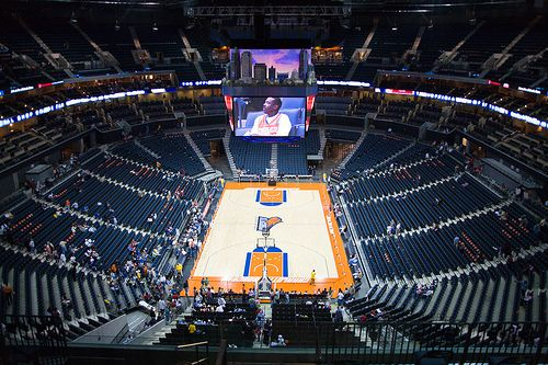 Bobcats games are a great experience for a date, night out with friends or when the family visits!   Nba arenas, Nba basketball teams, Nba