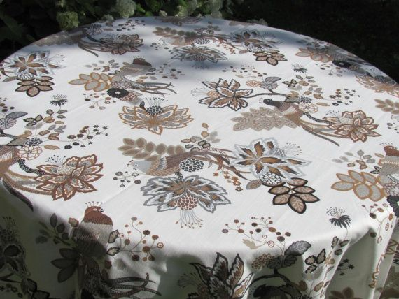 Merveilleux Square / Round / Oval Tablecloth Cotton Table Cover By MilaStyle