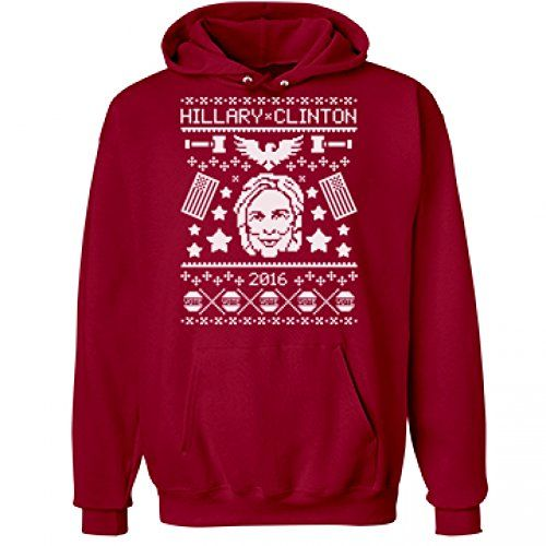 Hillary Clinton Ugly Christmas Sweaters – Ugly Sweaters By City ...