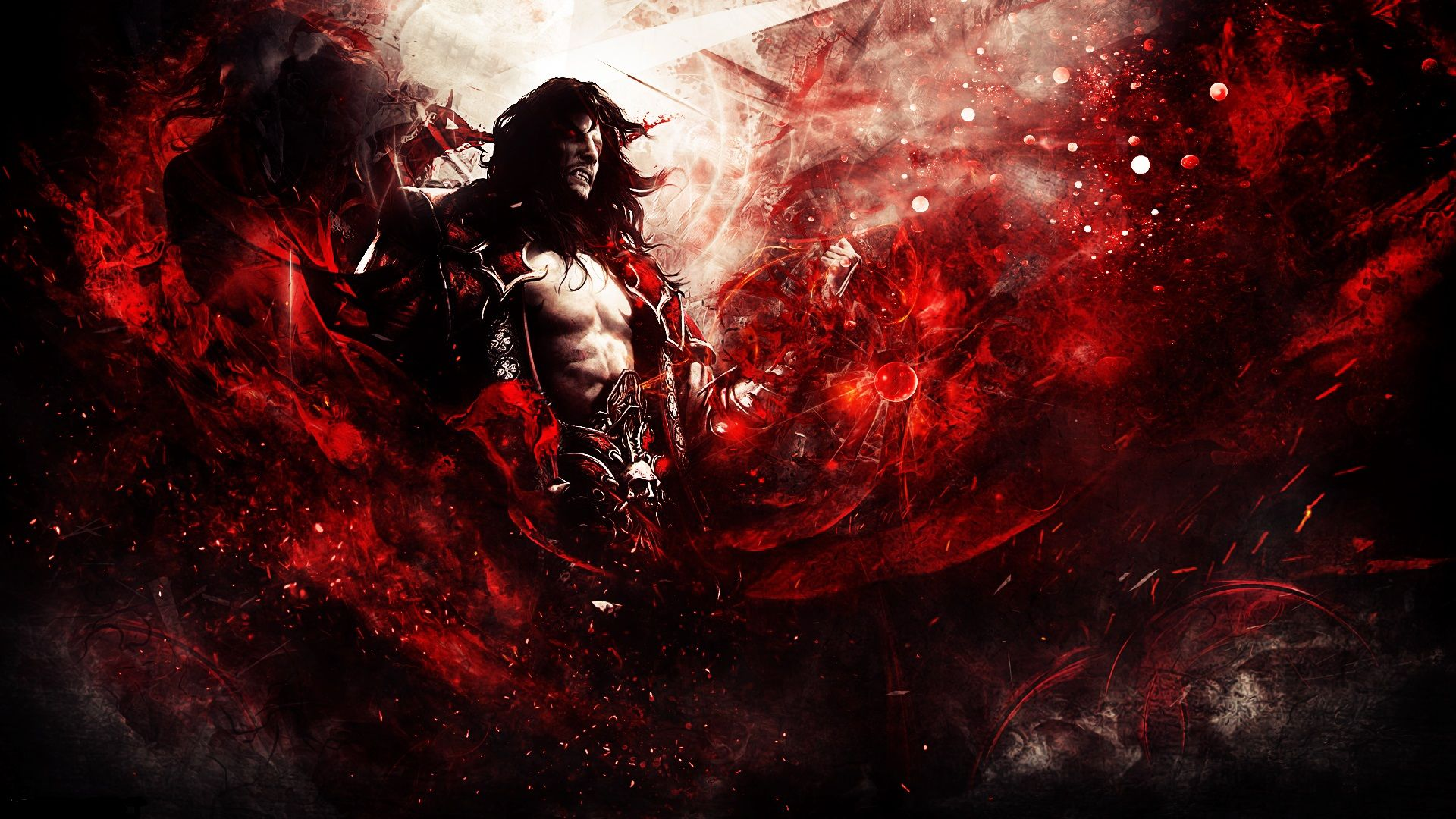 Castlevania Lords Of Shadow 2 Dracula Wallpaper