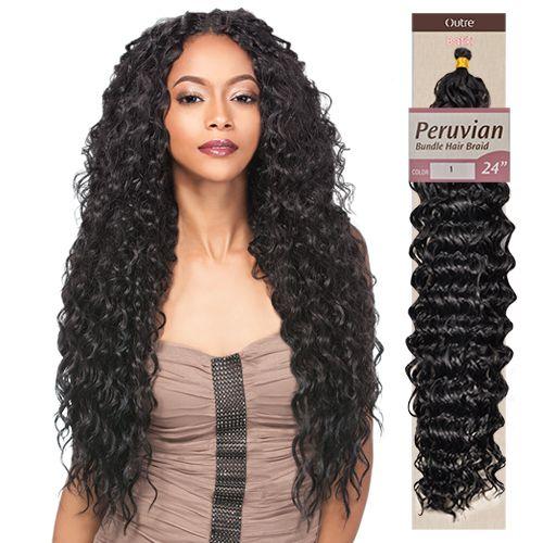 outre synthetic hair braid batik