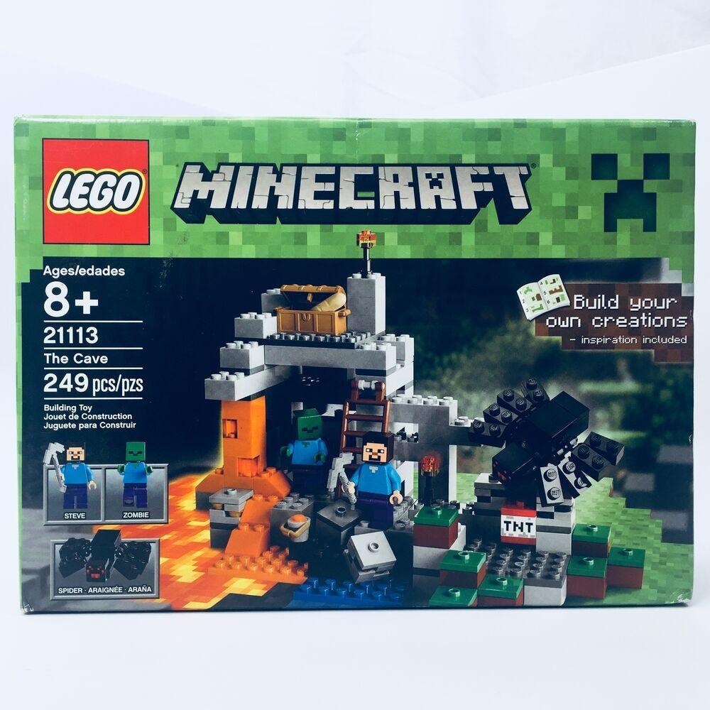Sealed lego set 21113 minecraft the cave sealed