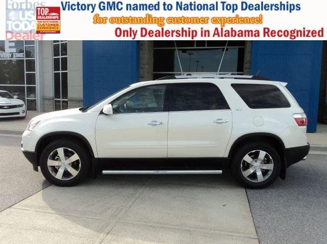 2012 Gmc Acadia Slt1 Dealer Demo Unit Available Now With Huge