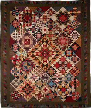 patchwork sampler pattern heartsong