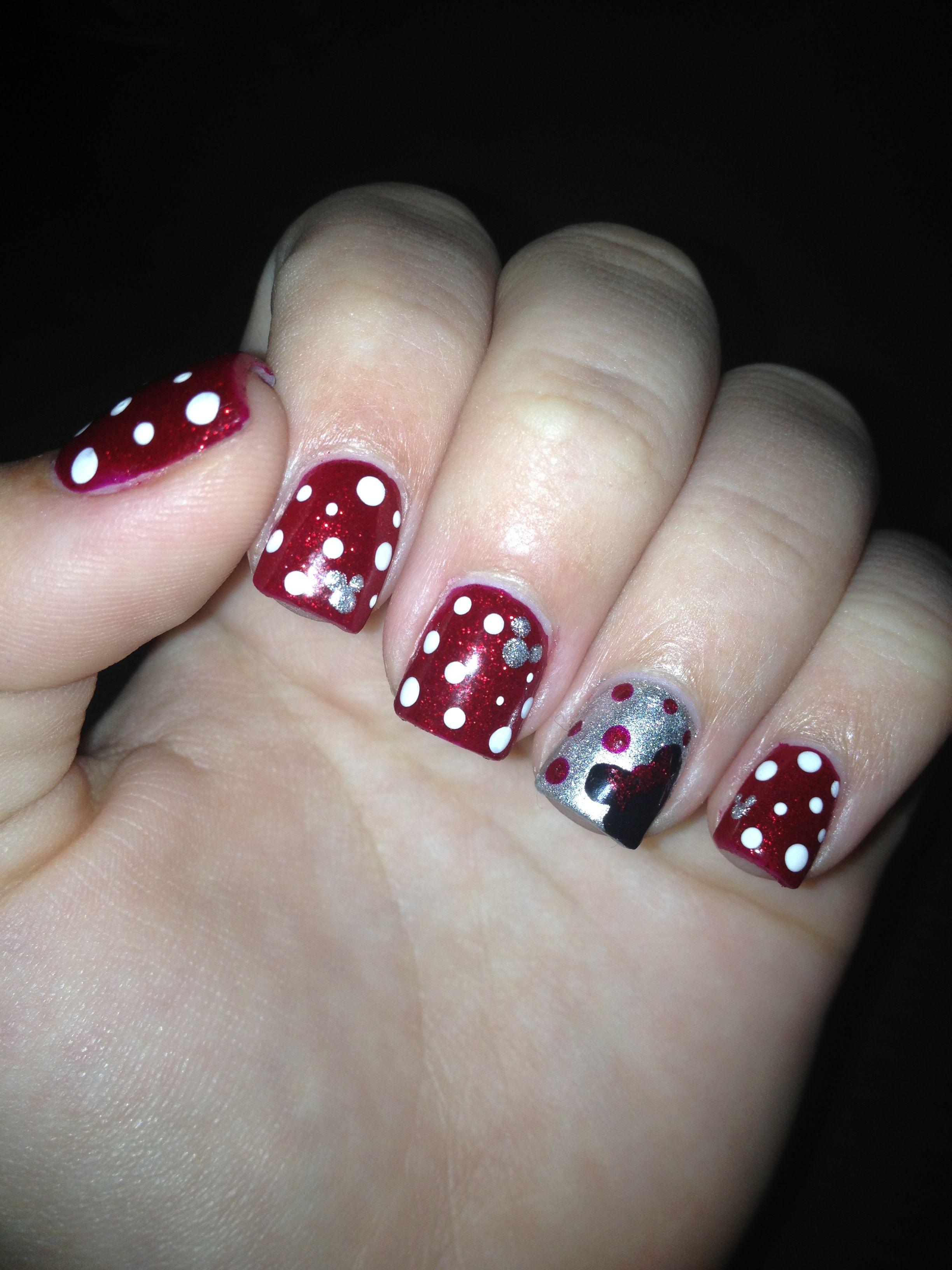 My Walt Disney World Nails 2012!   Nails :)   Pinterest