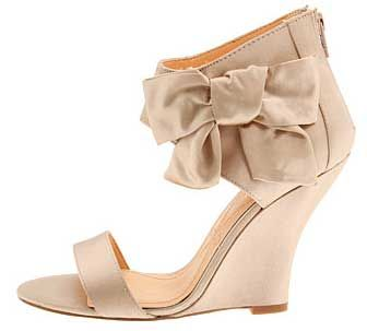 Wedge Heeled Wedding Shoes By Pour La Victoire