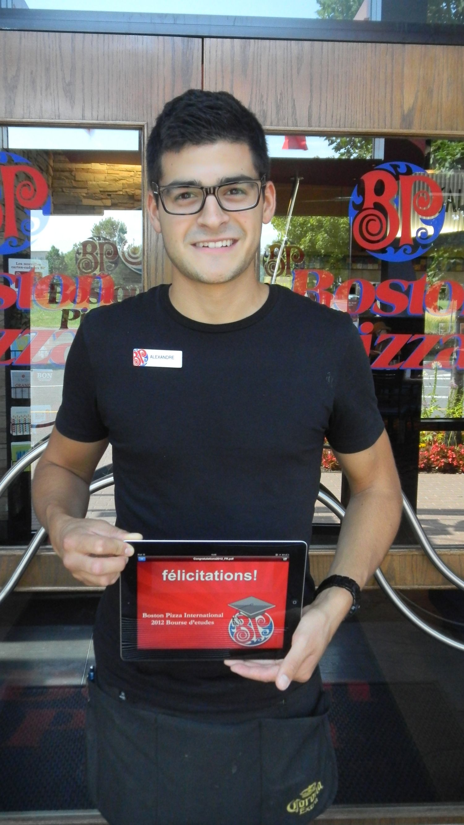 2012 bpi scholarship winner alexandre ricci