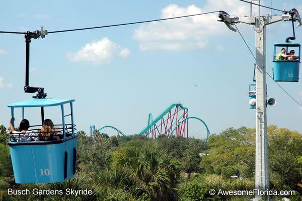 Delicieux Busch Gardens Skyride