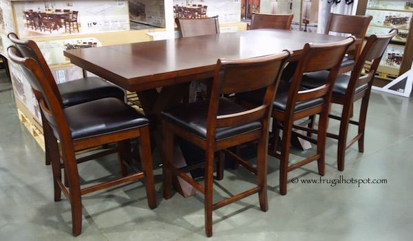 Hillsdale Furniture 9 Piece Counter Height Dining Set.