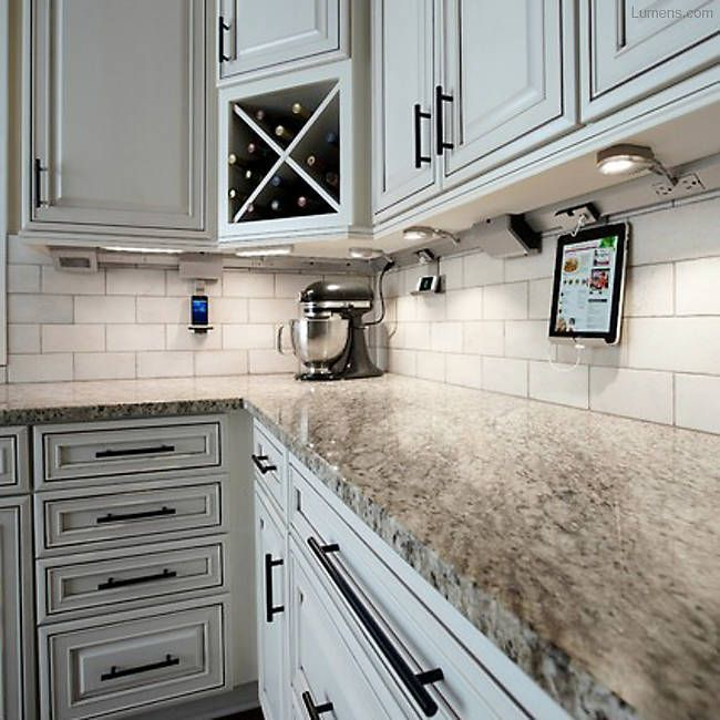 Under Kitchen Cabinet Lighting Ideas: Legrand Undercabinet Collection