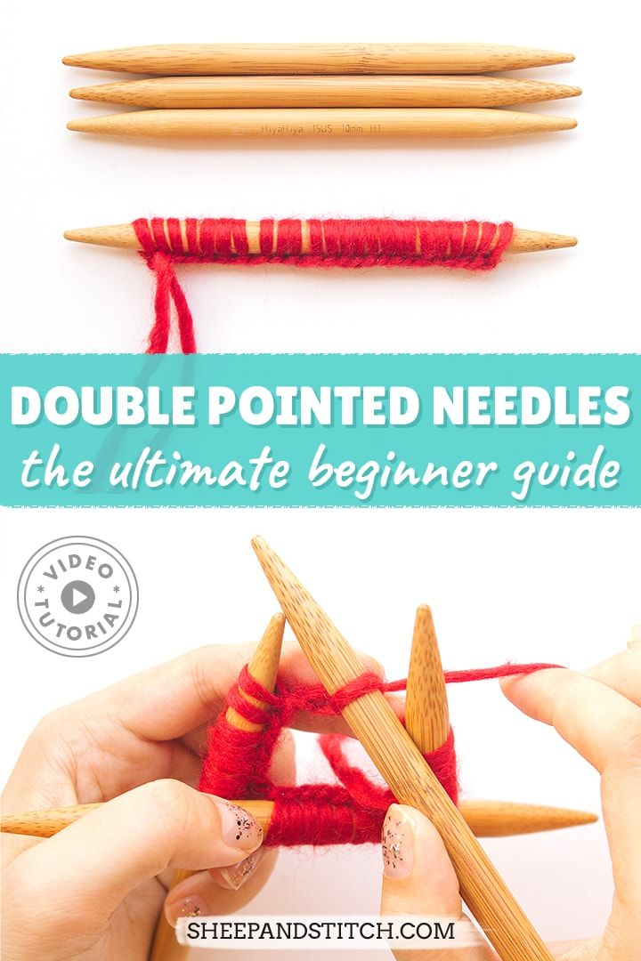 Photo of How to Knit with Double Pointed Needles for Beginners – Sheep and Stitch