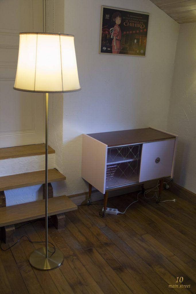 Lampadaire Ikea Rodd avec abat jour maison en soie www