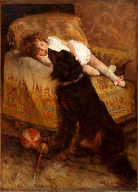 Elizabeth Strong (1855 – 1941, American)