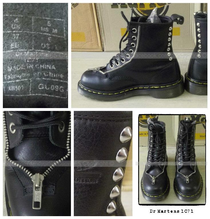 Dr Martens 1c71 Made In china ☠ Dr. Martens Collection