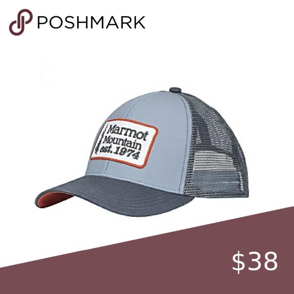 Marmot Men S Cotton Trucker Hat Trucker Hat Mens Trucker Hat Trucker