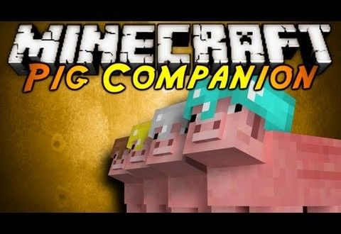 pig companion mod for minecraft 1 7 10 minecraft mods pinterest