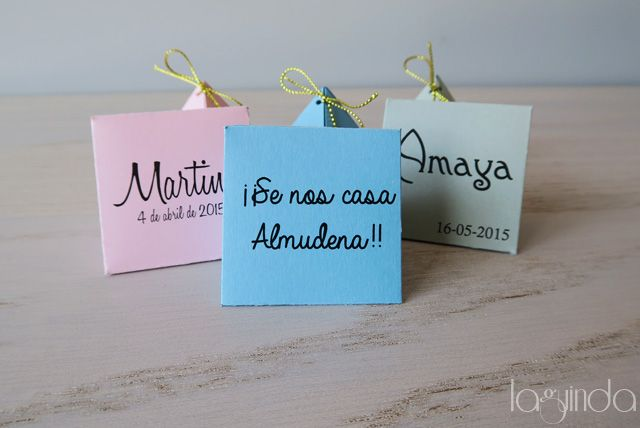 Bachelorette party favor. Recuerdo para despedidas de soltera.