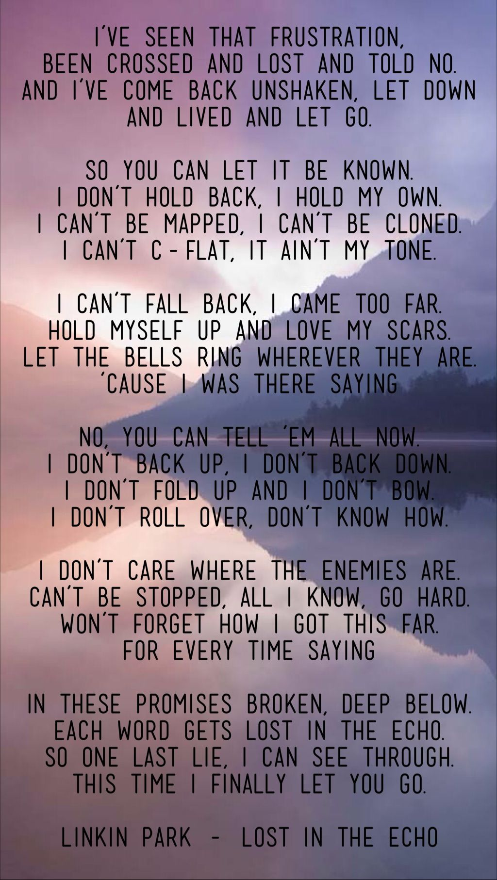 So back to what i was saying lyrics