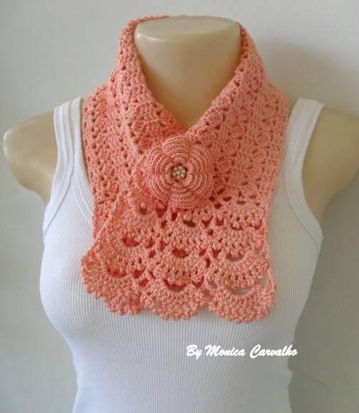 bufanda | mis cosas | Pinterest | Tejido, Ganchillo y Chal