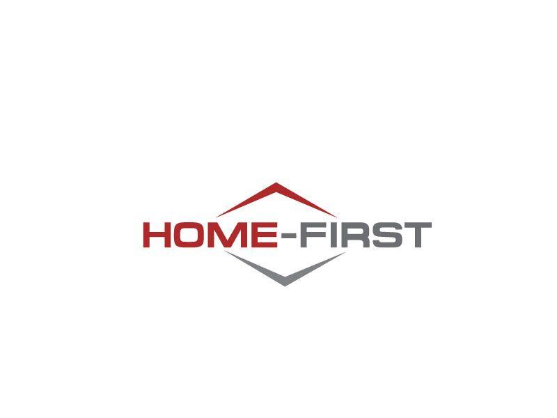 Logo-design f眉r home-1st / home-first. Wir sind... Elegant, Playful Logo Design by Logo1