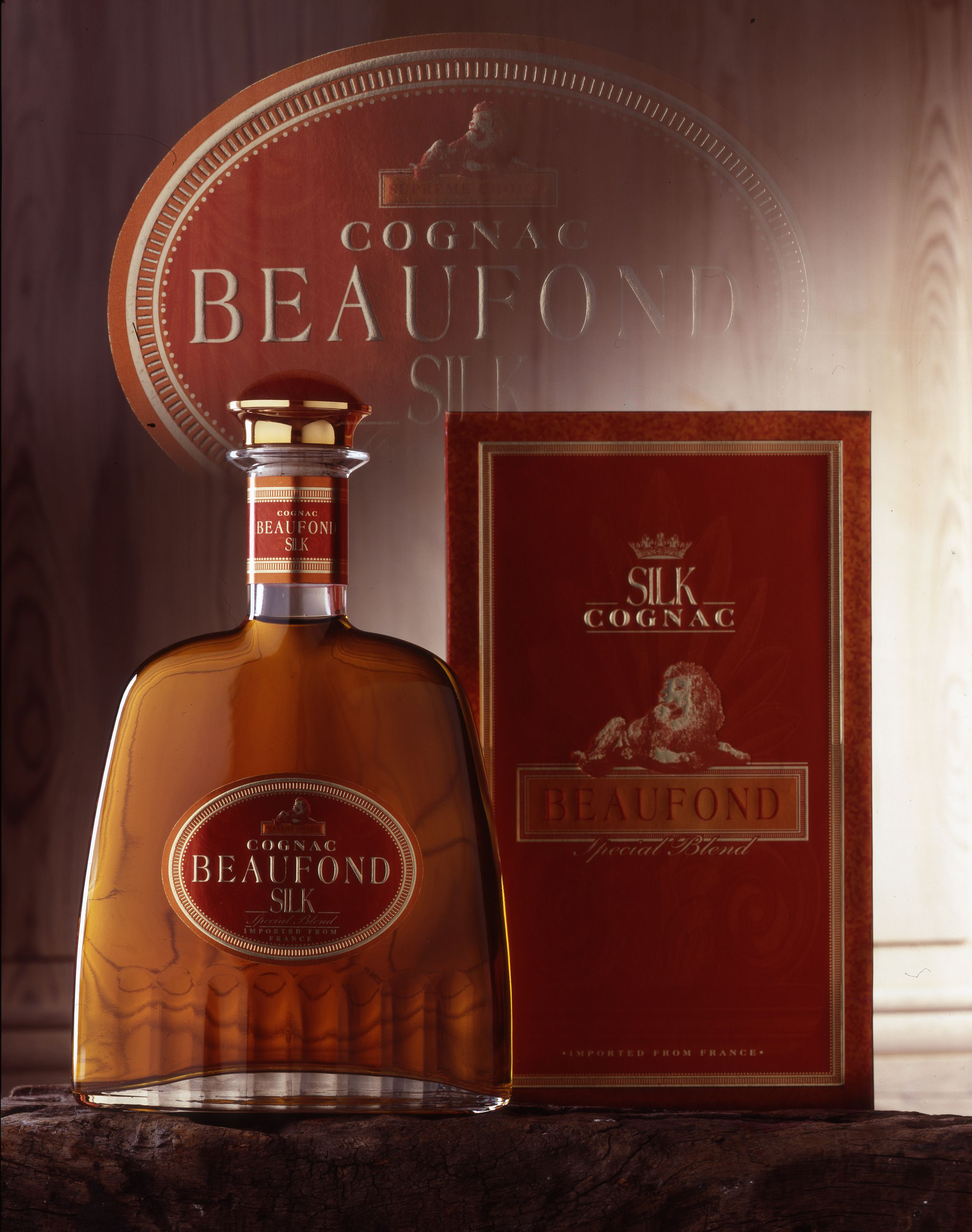 Beaufond Silk Liquor Bottles Bottle Cognac