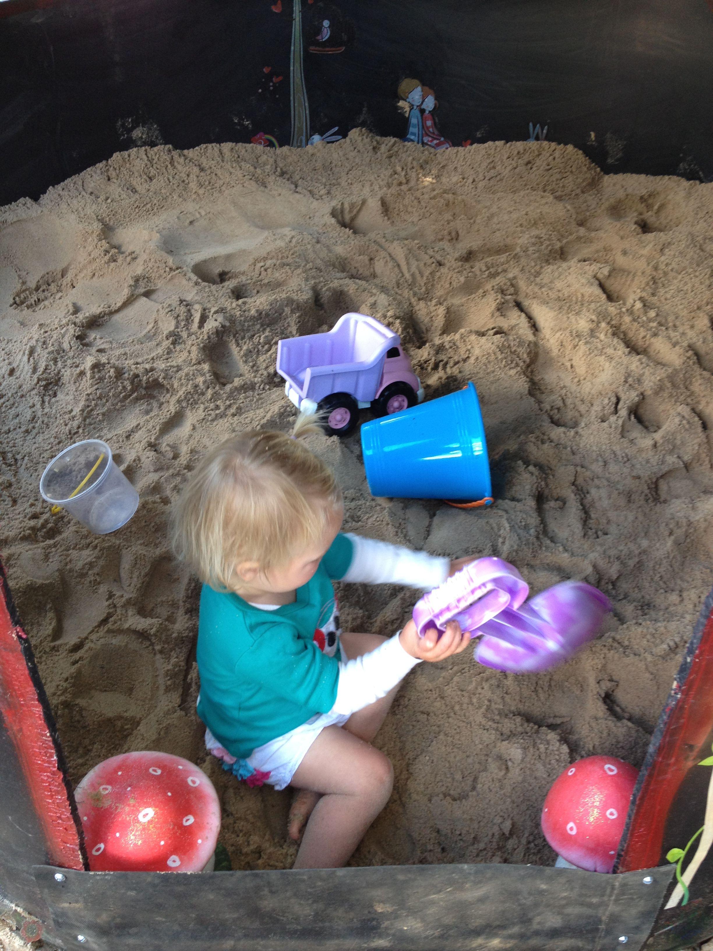 heidi's sandpit playhouse