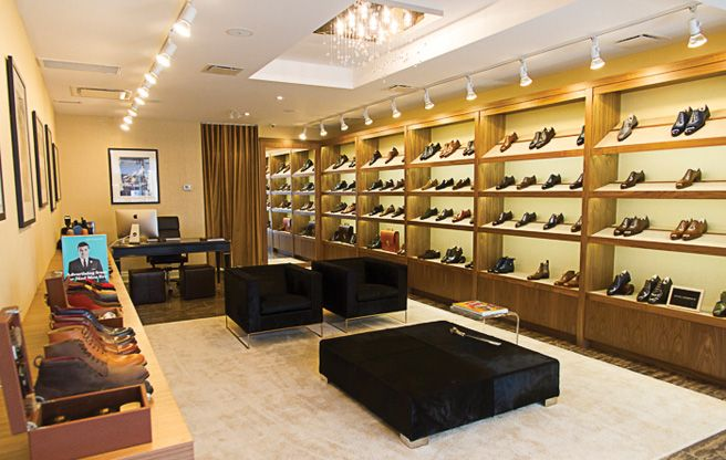 00a22ece7c LeatherFoot, a high-end men's custom shoe store in Yorkville. They are the  only store in Canada carrying Saint Crispin's, Corthay, Alfred Sargent, ...