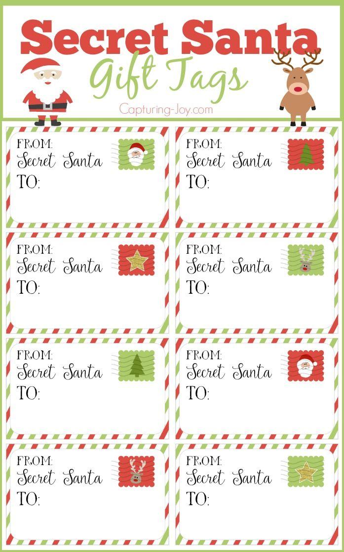 Free Printable Secret Santa Form Free Download
