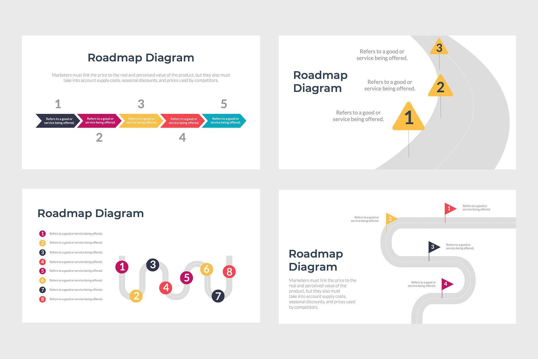Roadmap PowerPoint Template Powerpoint templates