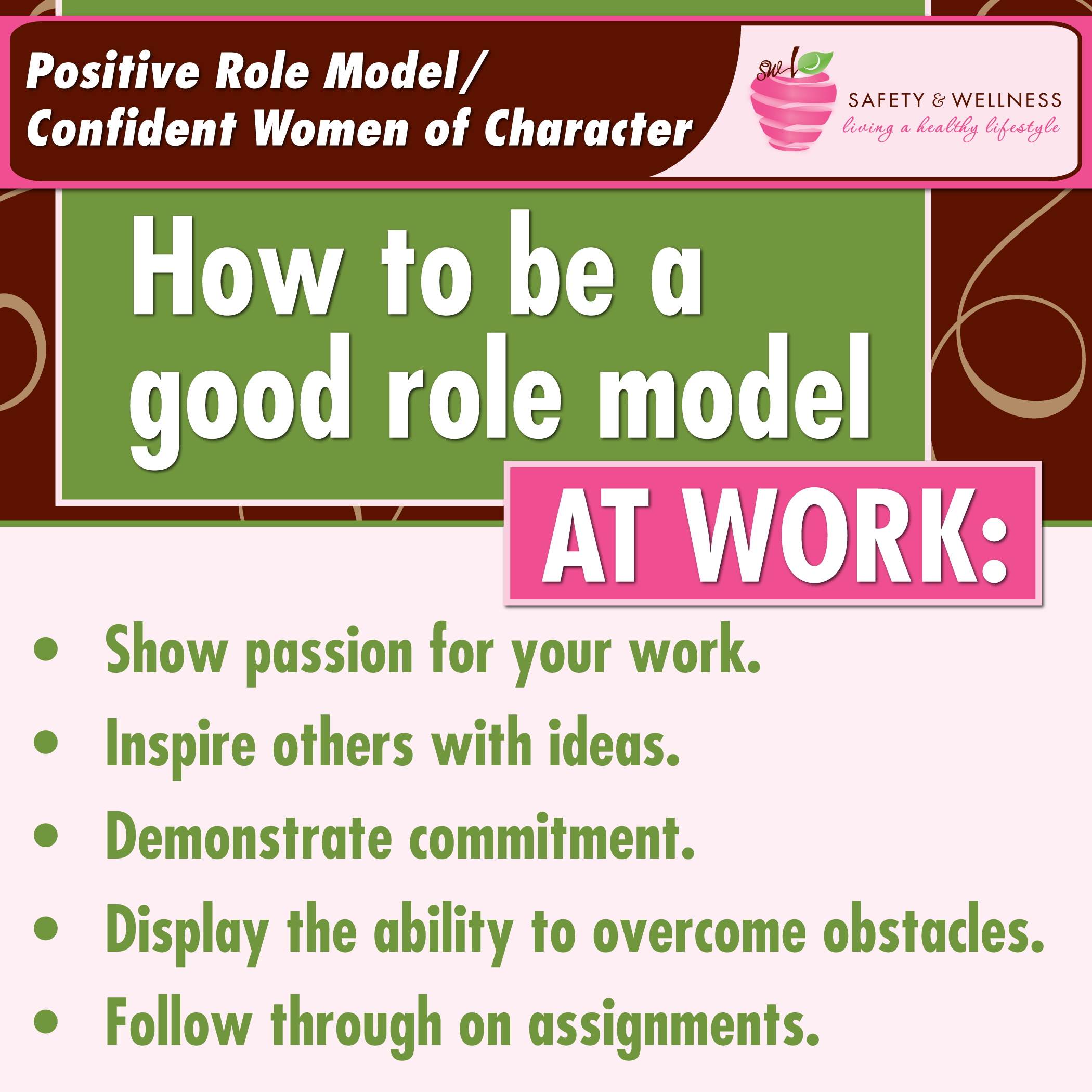 Watch How to Be a Role Model video