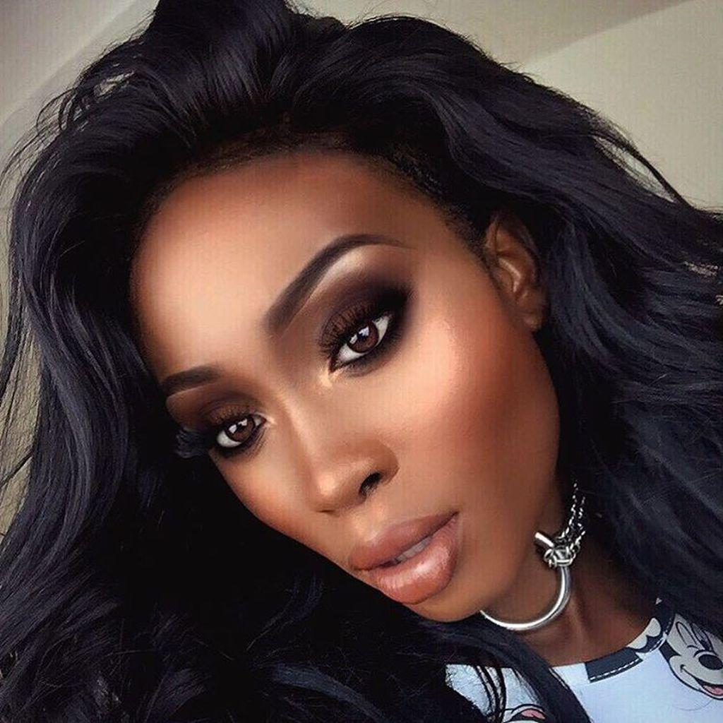 20 Elegant Smokey Eyes For Woman Dark Skin Makeup Brown Skin Makeup African American Makeup