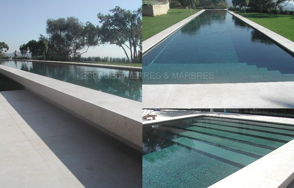 Piscine moderne design margelles bois design de maison for Piscine moderne design