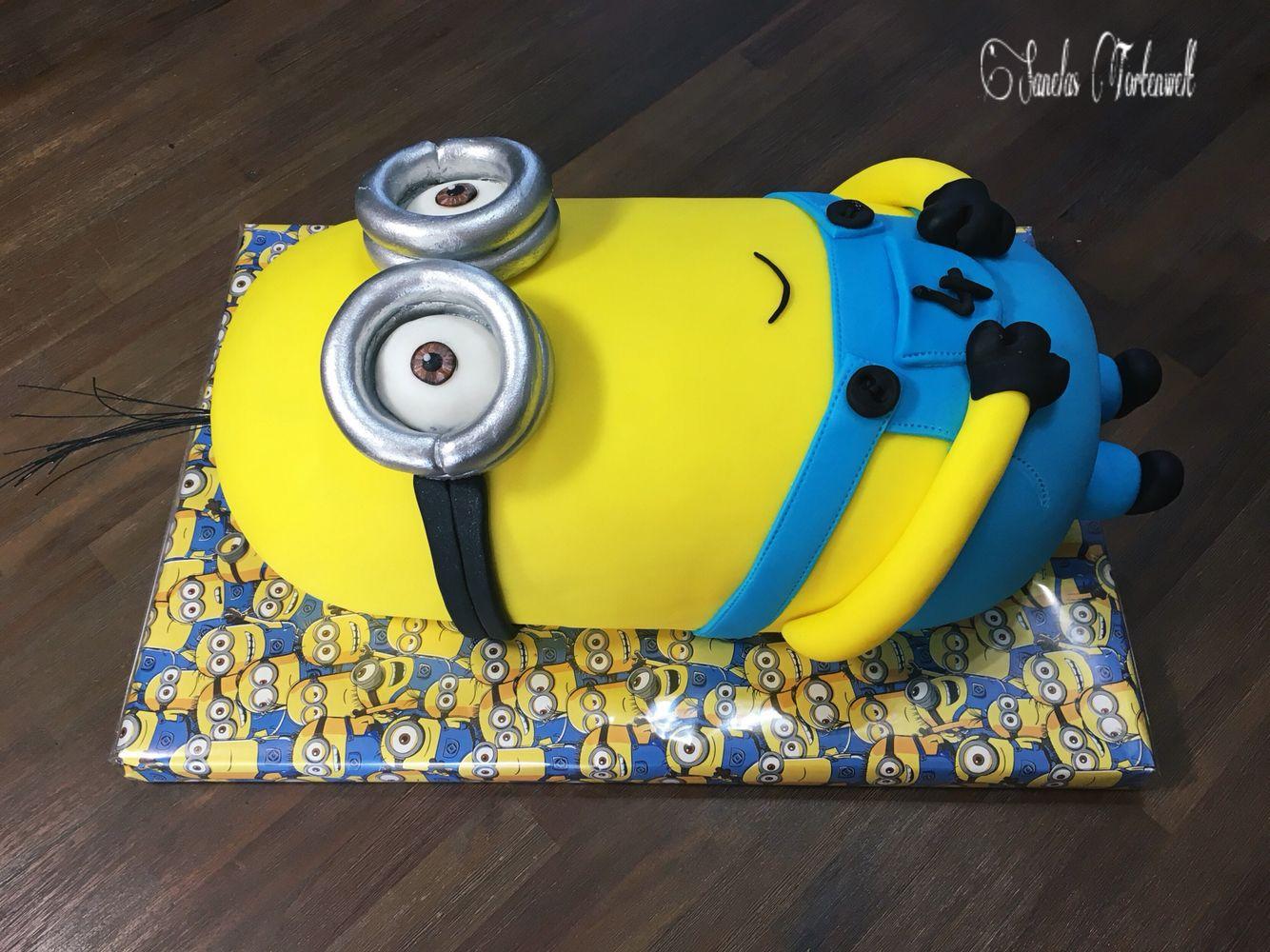 Minion Cake Kuchen Torte 3D Kevin KindergeburtstagsTorte Birthday
