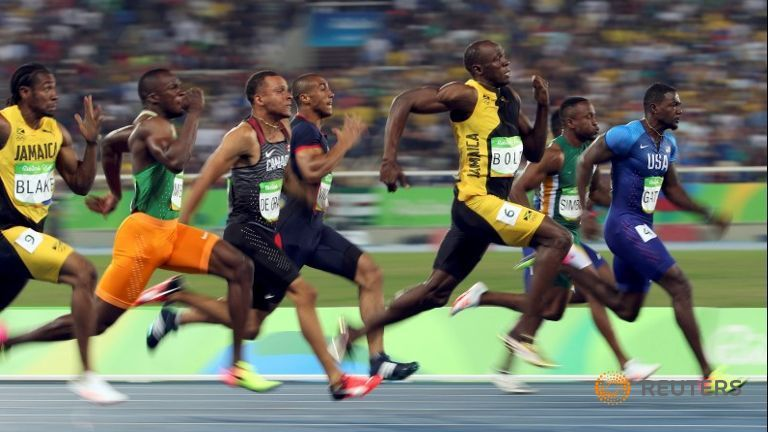 Imperious Bolt completes amazing 100m treble Alessandro