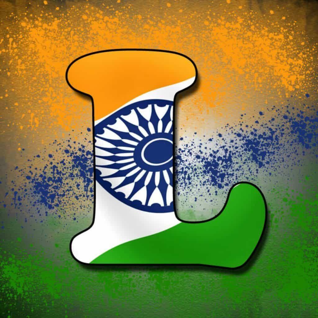 L Letter Tiranga Pic Tiranga Image For Whatsapp Indian Flag Images Indian Flag Wallpaper Indian Flag