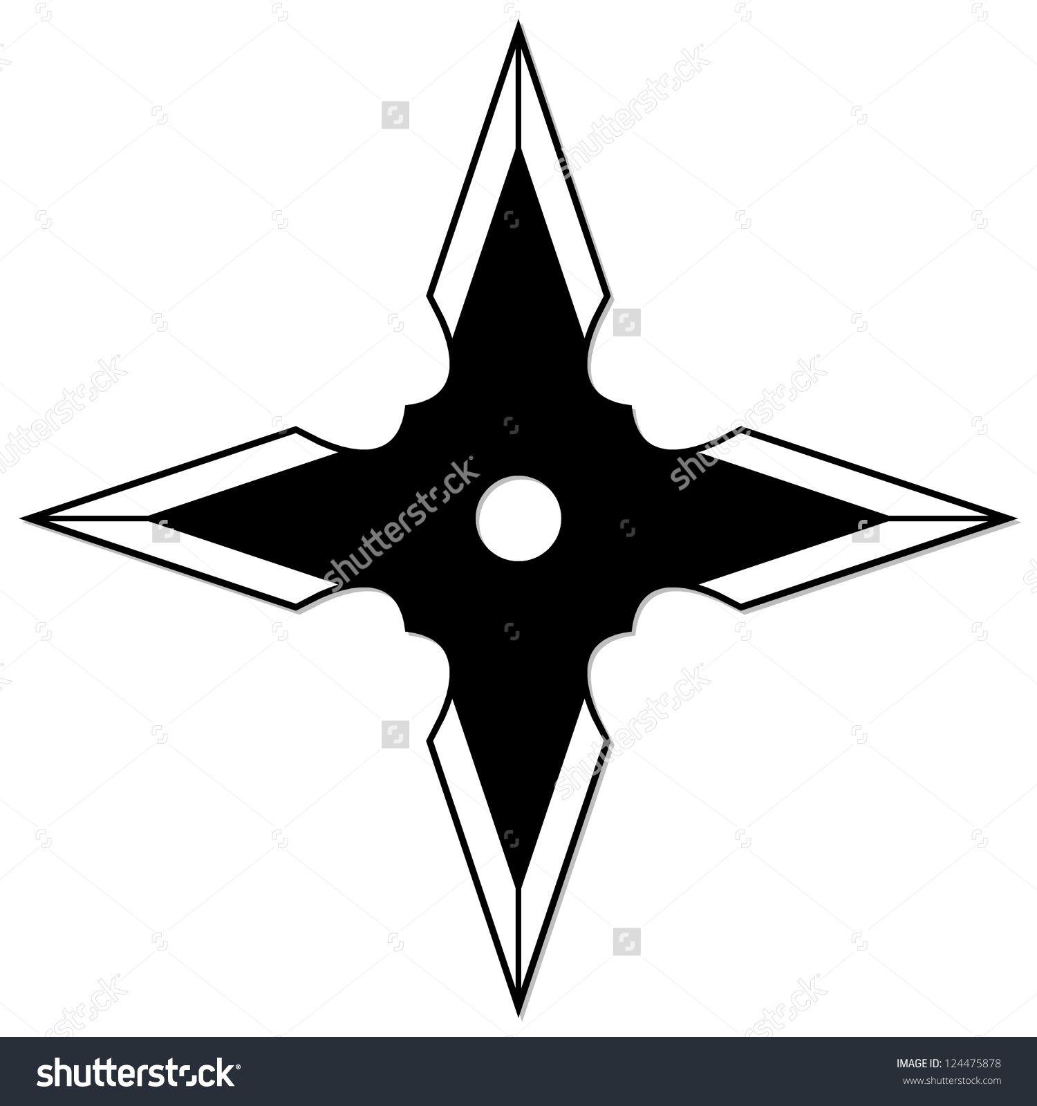 Ninja Star Template Resultado de im...