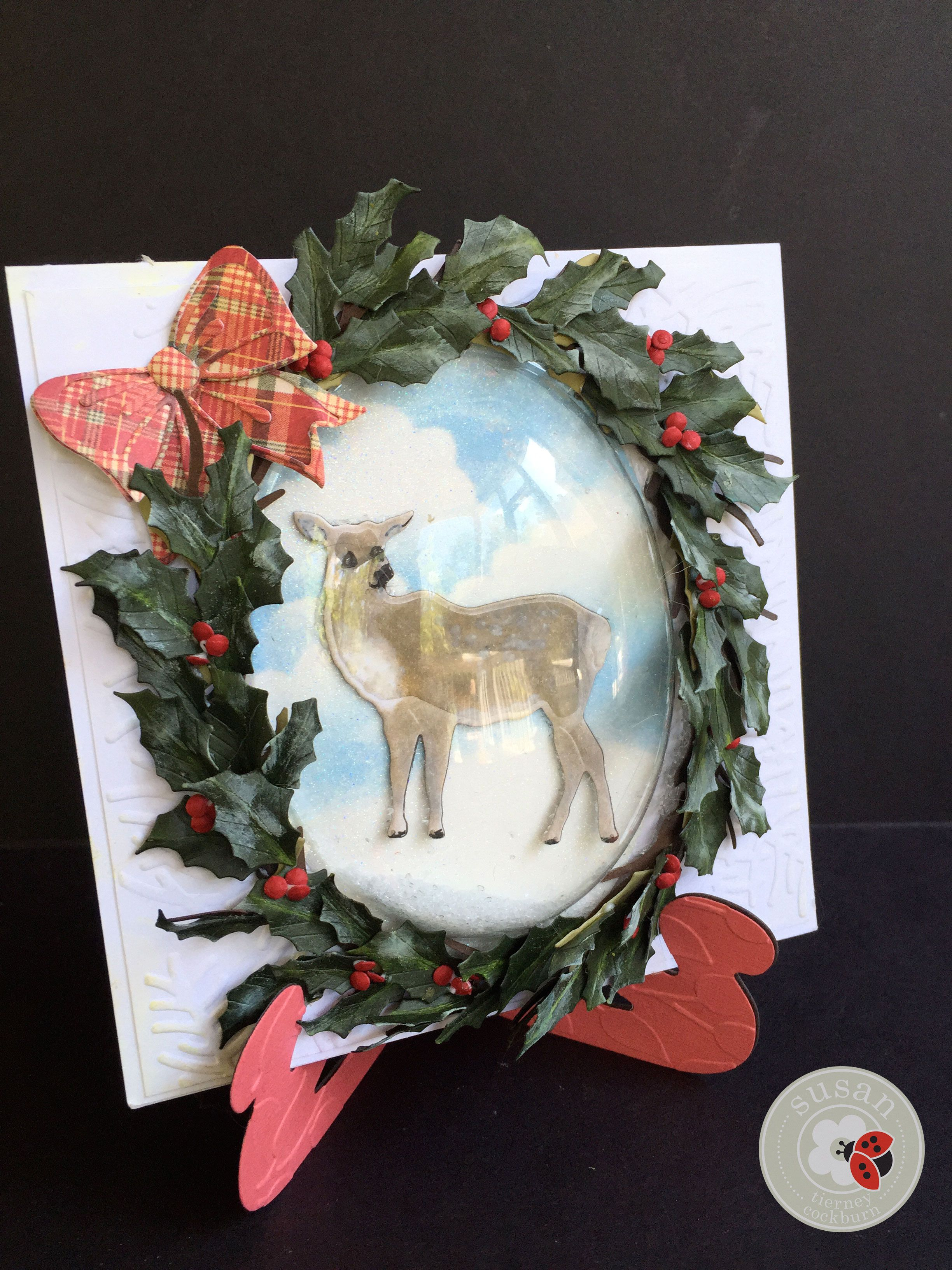 A Beautiful Holiday Wreath Created By Susan Tierney Cockburn Of Susans