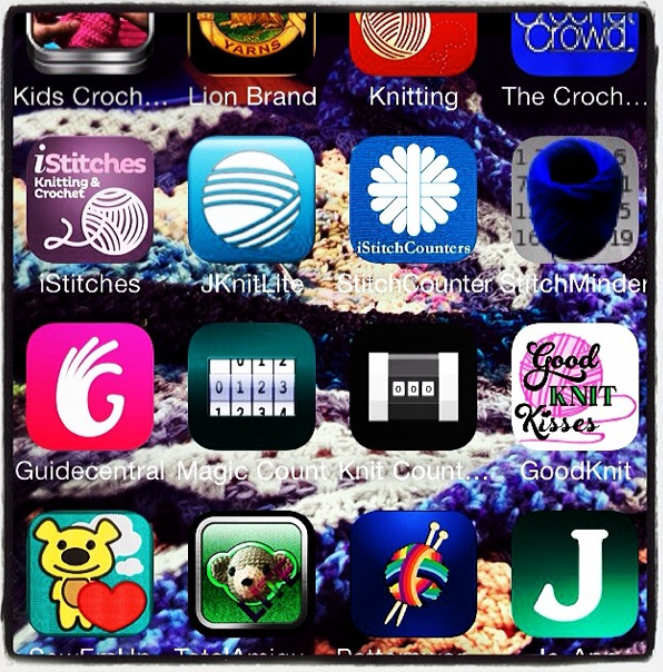 (Updated) 25 Yarn and Crochet Apps PART ONE From My