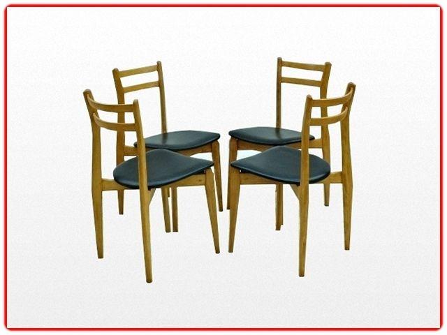 Chaises vintage scandinave 1960 - Meubles et décoration vintage