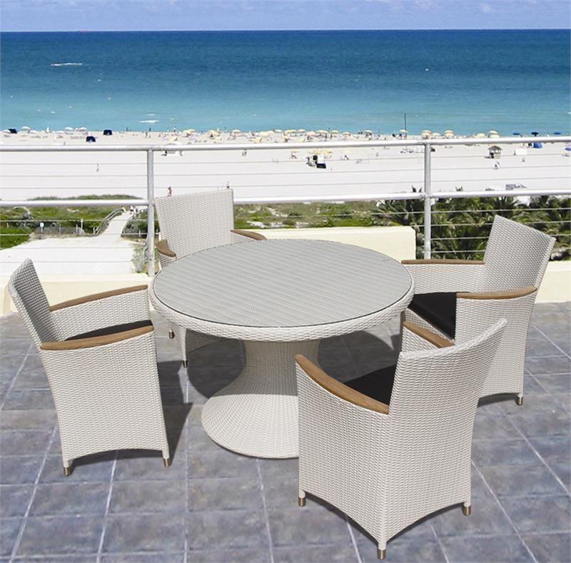 Royal Teak White Helena Chair White Wash - Set of 2 #diningset ...