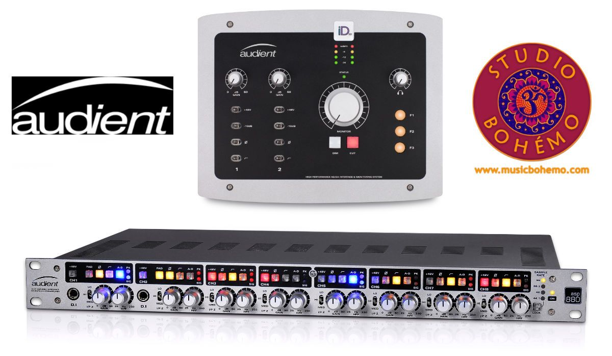 Id 22 Usb Audio Interface Asp880 8 Channel Mic Pre Adc With