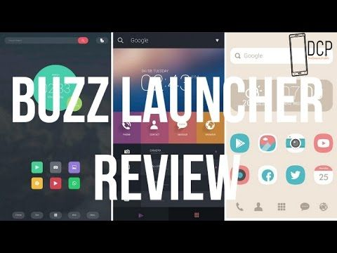 BUZZ LAUNCHER REVIEW - DCP - YouTube | Android Phone Tips