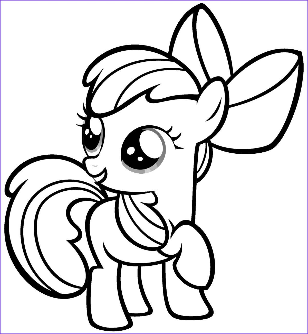 My Little Pony Coloring Sheets 2018 Dr Odd in 2020 ...