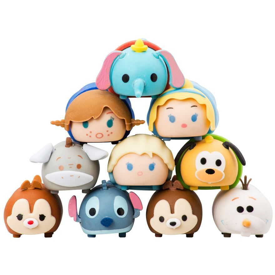 Disney Tsum Tsums Vinyl Figures Brand New No Original Packaging Small Baymax