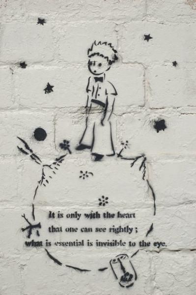 The Little Prince - Street art