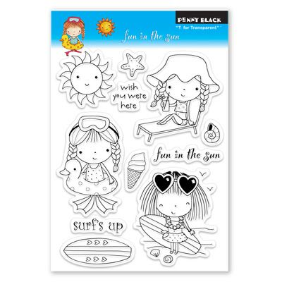 Giving away this NEW AWESOME set of stamps from Penny Black