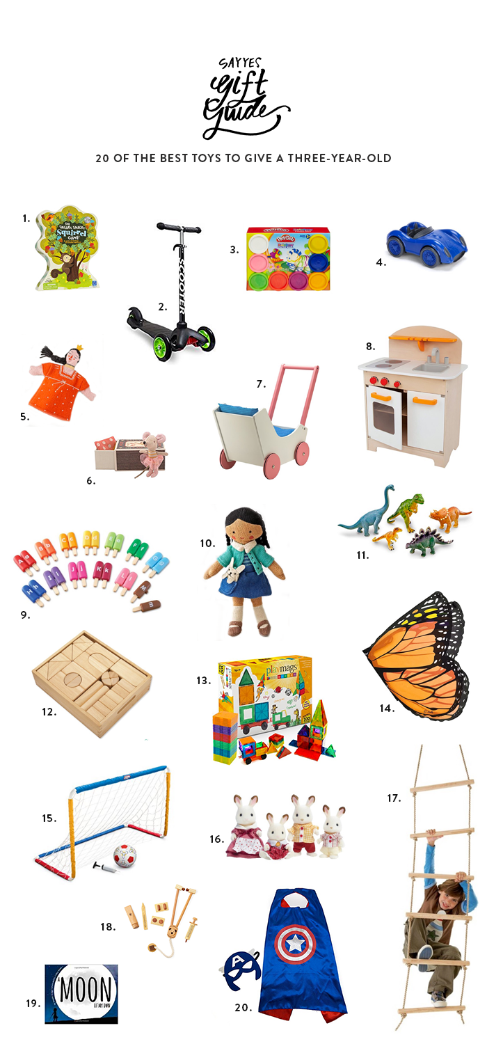 20 Best Toys To Give A Three Year Old Awesome Baby And Kid